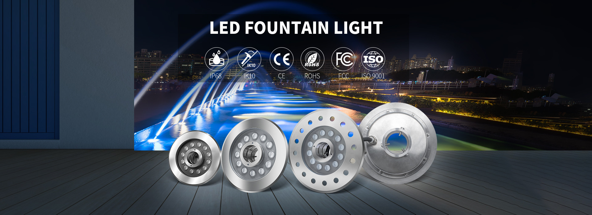 China best LED Fountain Lights on sales