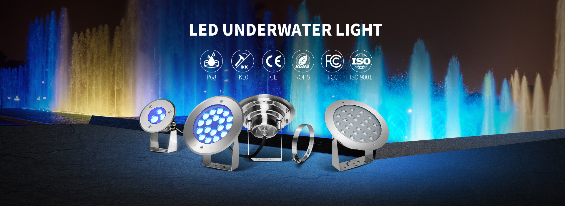 China best Underwater LED Spotlights on sales