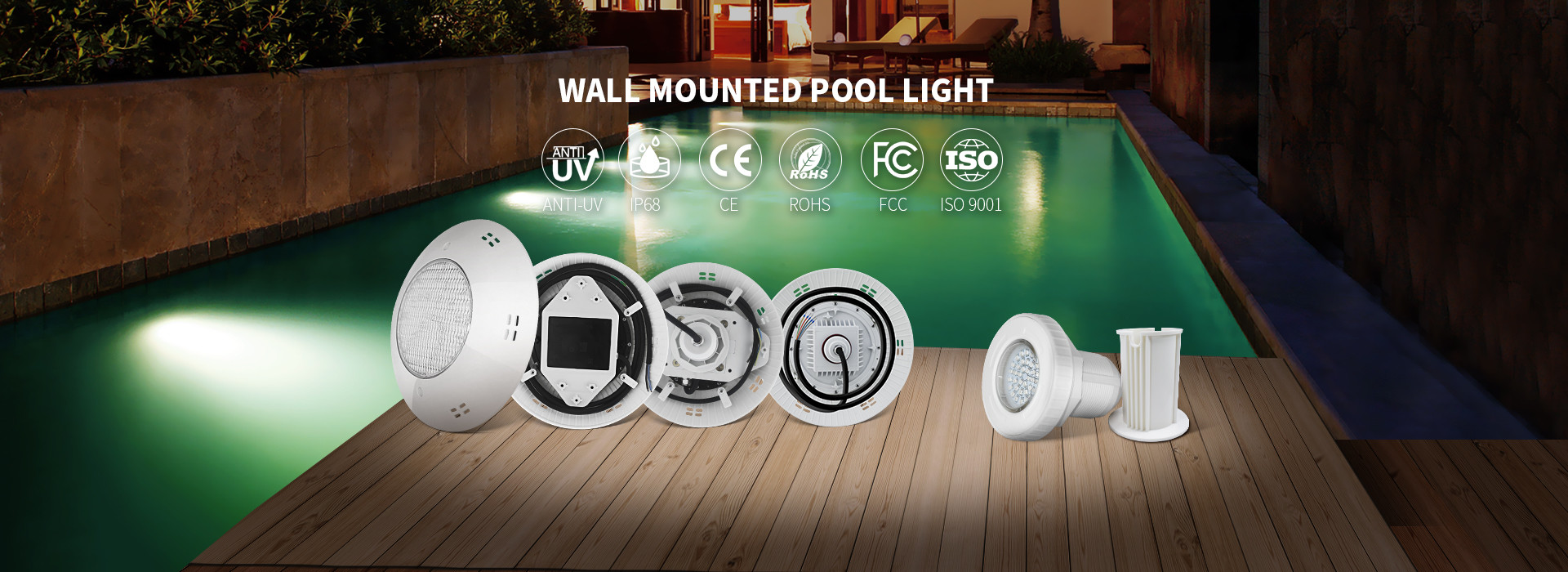 China best Surface Mount LED Pool Light on sales