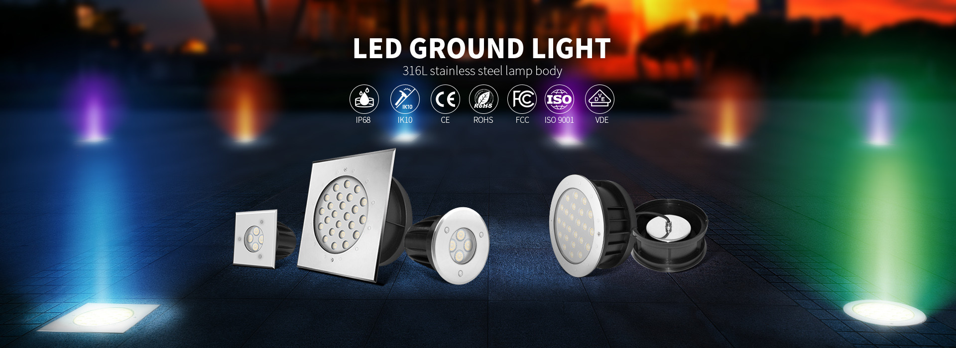 China best LED Ground Lights on sales