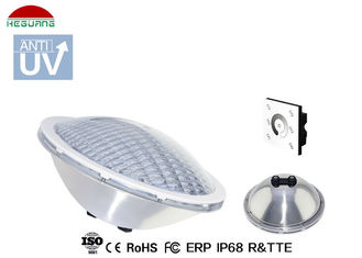 China AC / DC 35W Par 56 LED Pool Light , Stainless Steel Swimming Pool Lights supplier