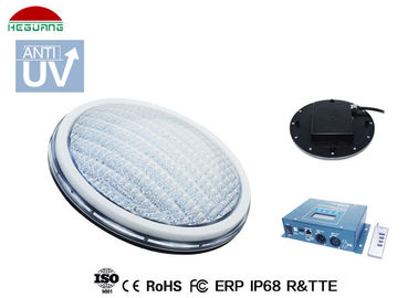 China DC12V 17W 5 wires out RGB DMX control IP68 ABS Ultra flat PAR56 LED pool light supplier