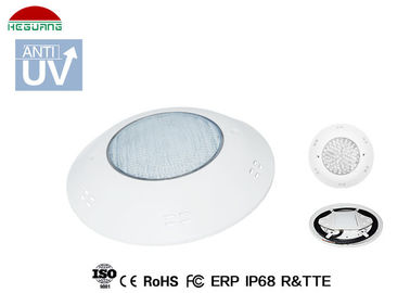 China IP68 waterproof  4 wires RGB WIFI control 14W DC 12V ABS wall mount LED pool light supplier