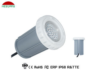 China 3000K warm white AC/DC 12V 3W plastic material IP68 waterproof wall mounted pool light supplier