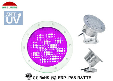 China 5 Wires RGB DMX Control IP68 LED Underwater Light 90W Halogen Replacement supplier