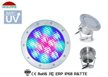 China 350LM LED Underwater Pool Lights For Above Ground Pool 15° - 60° Beam Angle supplier