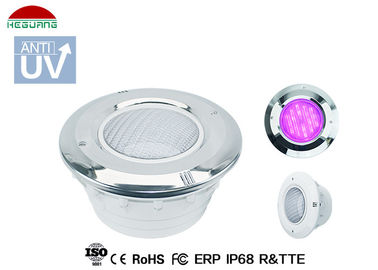 China IP68 Vinyl Swimming Pool Light Cover White Color For PAR56 ABS / PAR56 SS316 Light supplier