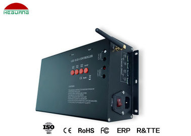 China All - In - One 12V RGB LED Controller Black Color With CE / ROHS Certification supplier