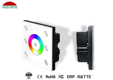 DMX512 Signal LED Pool Light Controller RGB Panel Portable 86mmx86mmx36mm