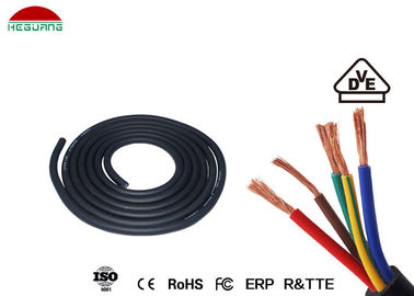 China Swimming Pool Light Assembly 5×0.5mm² IP68 Waterproof Five Core Rubber Cable supplier