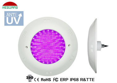 China DC 12V RGB external control 4 wires 17W IP68 waterproof LED fiberglass swimming pool light supplier