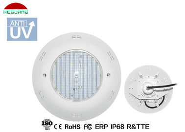 China IP68 Waterproof Wall Mounted Swimming Pool Lights 16W 12V AC/DC ABS Material supplier