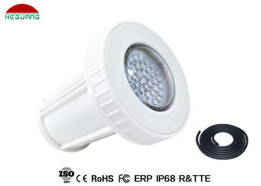 China Warm White Surface Mount LED Pool Light 3000K 12V AC/DC 3W 2 Wires 120° Beam Angle supplier