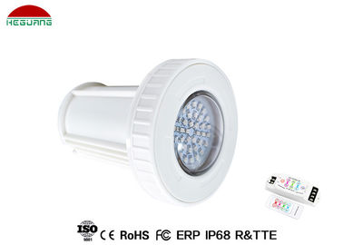 China RGB External Control Led Surface Mount Underwater Light 4 Wires DC 12V 2 Years Warranty supplier