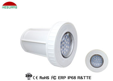 China Single Color Surface Mount LED Pool Light 3W Plastic Material AC/DC 12V ABS PC Cover supplier