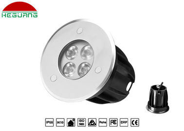 China 3W 5W 9W 24W Inground Pool Led Lights , White Color Led Driveway Light DC 24V supplier
