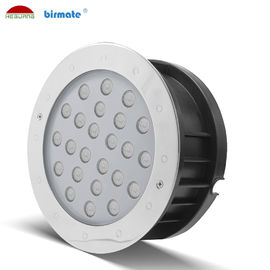 24V Led Swimming Pool Light , Led Underwater Spot Light 24 Watt RGB Color
