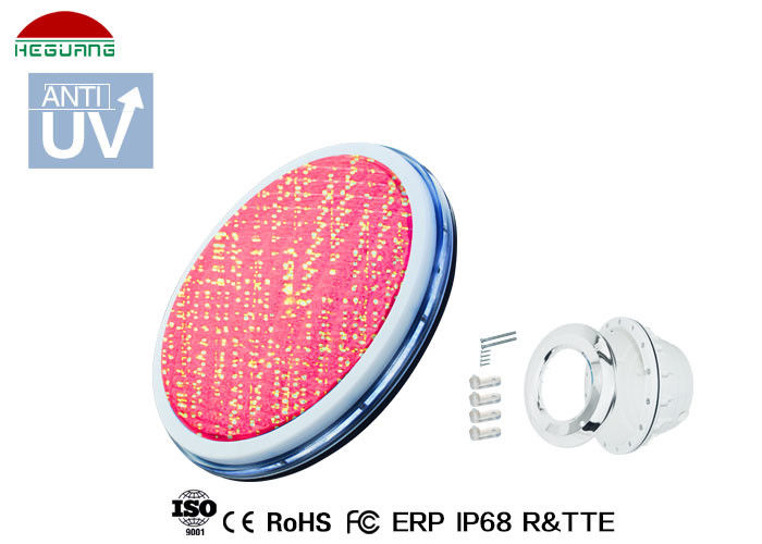 Color Change DC12V Ultra Flat ABS IP68 Waterproof Led Pool Light  RGB 100% Synchronous