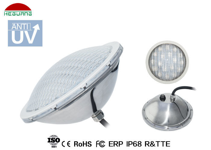 IP68 Stainless Steel Swimming Pool Lights High Reliability CE RoHS Approved
