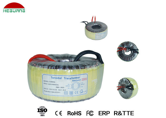 LED Power Supply Toroidal Lighting Transformer Double Insulated Enameled Wire Winding supplier