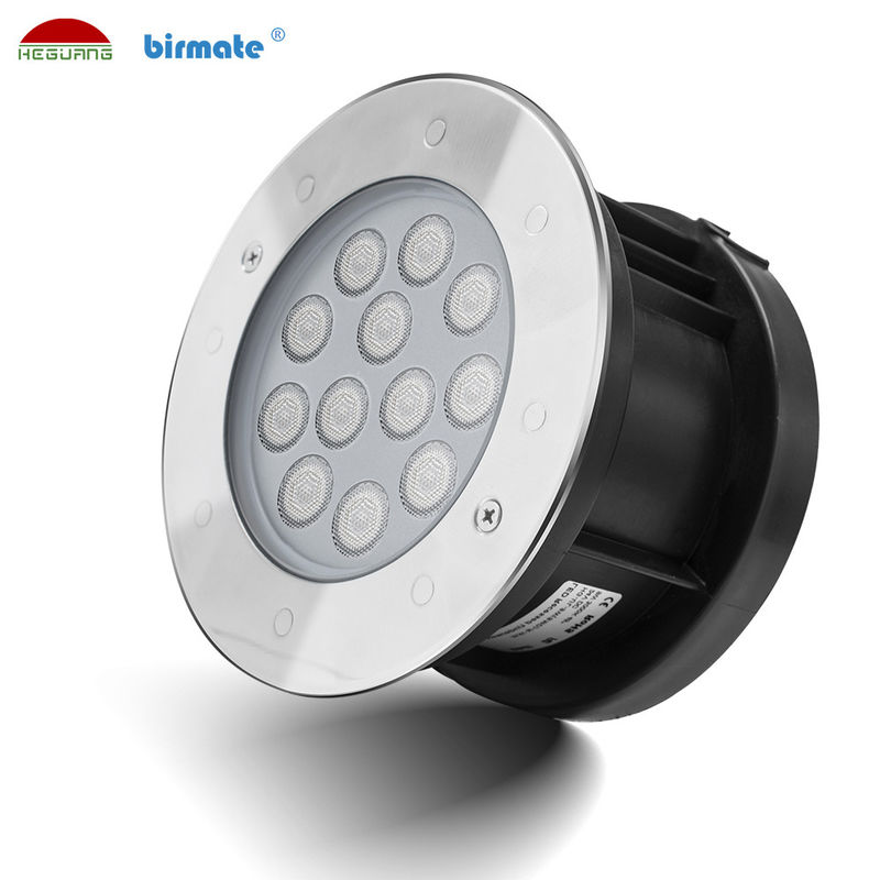 Waterproof 12W Low Voltage Underwater Pond LightsColor Changing Extenal Control