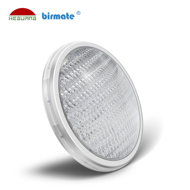 Warm White Par56 LED Swimming Pool Lights 18W 177x95mm Anti UV PC Cover Material