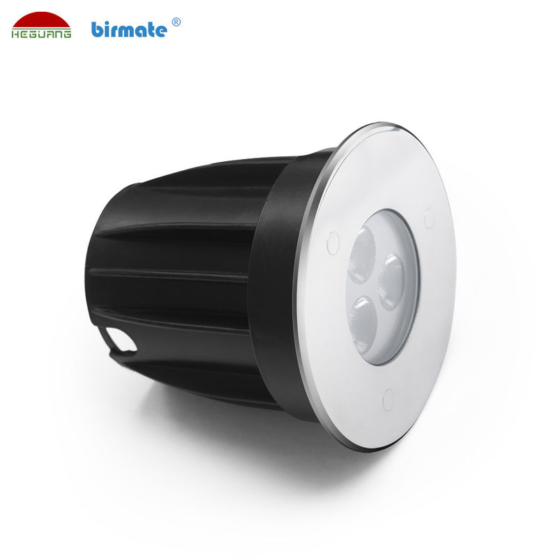 Colorful CREE Chip IP68 316L Stainless Steel 130LM Underwater LED Spotlights