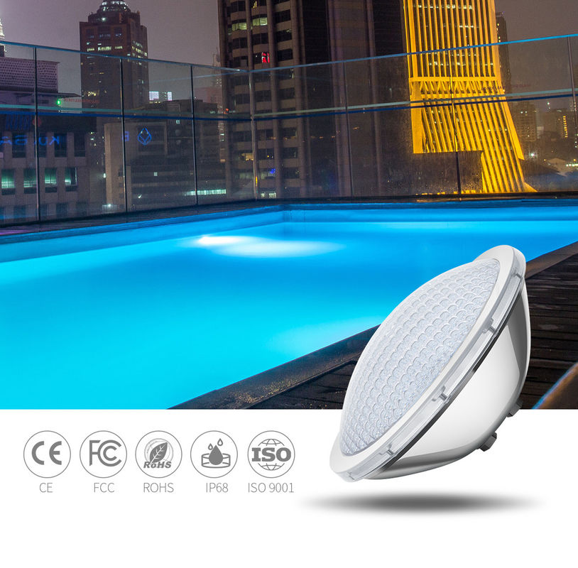 150W PAR56 IP68 1700LM Waterproof Led Pool Lights Warm White