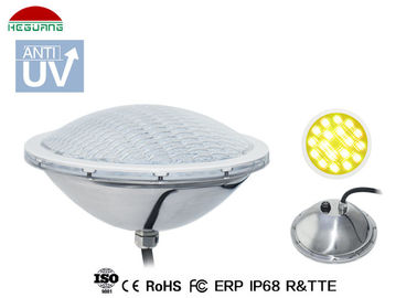 China 4 Wires RGB WIFI Control IP68 LED Pool Light , DC 24W 12V Swimming Pool Lights distributor