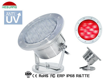 China RGB WIFI Control LED Underwater Pool Lights , Stainless Steel Underwater SPA Lights distributor