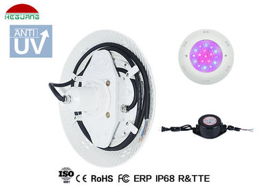 China 18W Surface Mounted Led Swimming Pool Lights AC 12V RGB Switch ON / OFF Control distributor