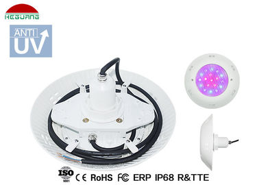 China Surface Mount Vinyl Pool Lights IP68 Waterproof 18W DC 12V RGB External Control distributor