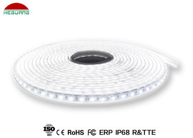 China Singe Color 2835SMD 60led per roll IP68 white color led pool light strips factory