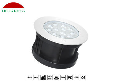 China Recessed White Color Underwater Led Lights 9 Watt High Efficiency Ip68 450MA distributor