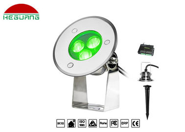 China 3W RGB Color Changing Surface Mounted Pin Light DMX Insert Anti UV Material factory