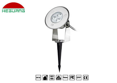 China Outdoor Park RGB LED Pin Lights SS316L Housing Ground Inserted 2 Years Warranty distributor