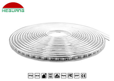 China DC 24V IP68 LED Pool Light , 2835SMD Flexible Led Strip Light 6500K 5M Per Roll factory