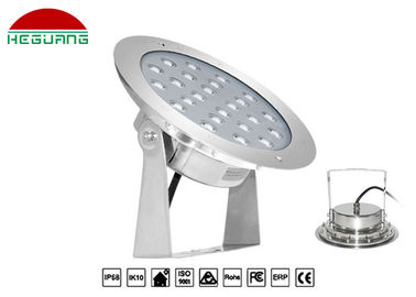 China 6500K Dimmable Led Swimming Pool Light IP68 SS316L Material 36W White Color distributor