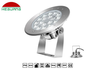 China 18w Underwater Led Pond Lights Replace Lamp Ip68 Waterproof 2 Years Warranty distributor