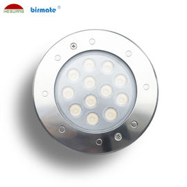 China 9W DMX512 RGB Control In Ground Driveway Lights  SS316L Under Ground Led Light factory