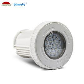 China RGB Synchronous control  4 wires 12V DC IP68 waterproof 3W ABS wall mounted LED pool light factory