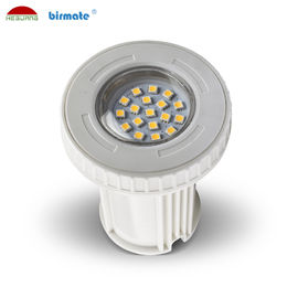 China AC/DC 12V 3W plastic material IP68 waterproof wall mounted pool light mini pool light factory