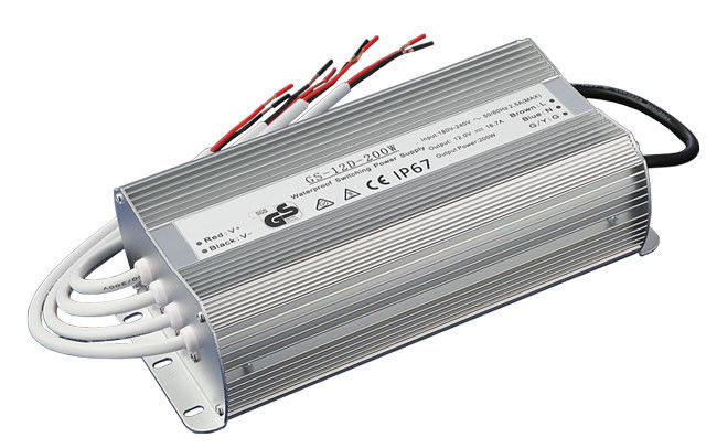 IP67 Waterproof Dimmable LED Power Supply With Over Temperature Protection